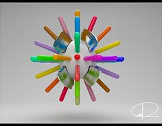 """Check out new work on my @Behance portfolio: """". Cinema 4D. Abstract."""" http://be.net/gallery/52841459/-Cinema-4D-Abstract"""