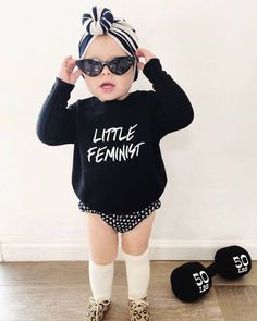 Our best selling design now in a cozy pullover Hipster Baby Girls, Hipster Baby Clothes, Cute Baby Clothes, Punk Baby Girl, Gothic Baby Clothes, Baby Girl Fashion, Kids Fashion, Baby Size Chart, Bebe