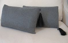 Chain Maille Lumbar Cushion   Photo