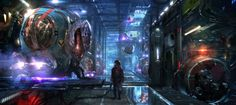 Don't miss this beautiful selection of 21 concept art made by Atomhawk Design for Marvel's Guardians of The Galaxy. Browse more Guardians of The Galaxy rel