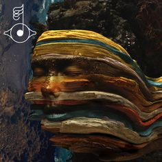 "I can't get over the beautiful album art for Björk's new Biophilia Remix Album, ""bastards"""