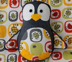 sweet penguin mini plush