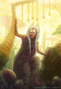 Star Wars: Force and Destiny - Shaak Ti by AnthonyFoti.deviantart.com on @DeviantArt