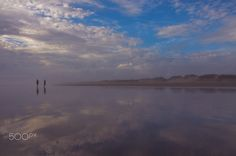 Stillness - 90 Miles beach at dusk New Zealand