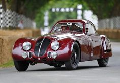 Alfa Romeo 8C 2900 B Speciale Tipo Le Mans at Goodwood Festival of Speed