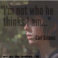Carl Grimes || Chandler Riggs || The Walking Dead