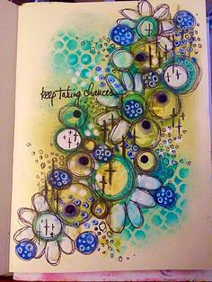 Tracy Scott - Playing in my art journal with a mix of distress inks, PanPastel and Dylusions acrylics Artist Journal, Art Journal Pages, Art Pages, Art Journals, Mixed Media Journal, Mixed Media Canvas, Mixed Media Art, Mix Media, Diy Collage