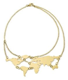 Things Miss Frizzle Would Wear - I've got the whole world on my neck!