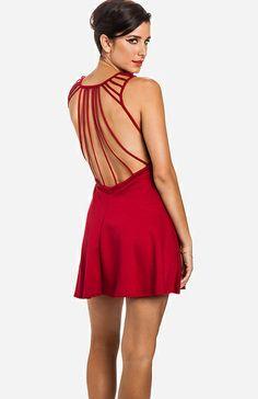 open back sexy dress