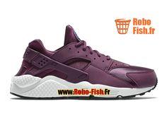 Nike Wmns Air Huarache GS - Chaussure Nike Sportswear Pas Cher Pour Femme/Fille Mûre/Soar/Venice/Noir 634835-500
