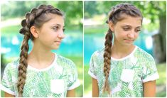 Side Dutch Braid Combo | Back-to-School Hairstyles