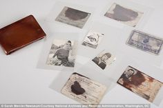 A look inside assassin's wallet: Never-seen-before pictures of Lee Harvey Oswald's personal items go on display