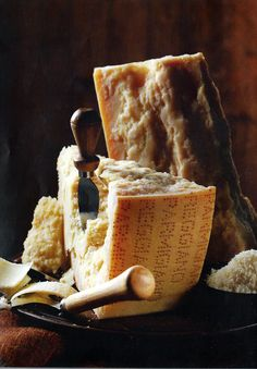 Parmigiano Reggiano AOP - irreplaceable daily staple in our cooking - only the authentic from Italy