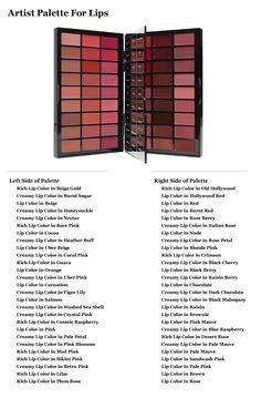 Artist Palette for Lips | Bobbibrown.com