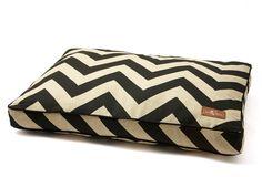 One Kings Lane - Jax & Bones - Spellbound Pillow Bed, Black/Khaki