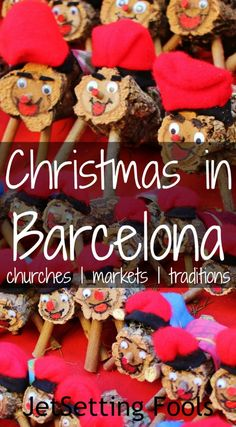 There are so many things that make Christmas in Barcelona spectacular! From the fabulous churches to historic Christmas Markets to two extremely odd Barcelona Christmas traditions, we jumped right in and celebrated the holiday Catalan style! Best Christmas Markets, Christmas Travel, Holiday Travel, Christmas Time, Xmas, Winter Travel, Barcelona In Winter, Barcelona 2016, Barcelona Trip
