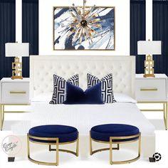 Glam Master Bedroom, Bedroom Inspo, Design Page, My Design, Interior Decorating, Interior Design, Bed & Bath, Guest Room, Comforters