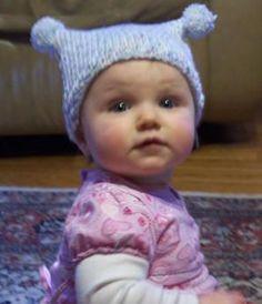 free knitting pattern - infant & toddler hat