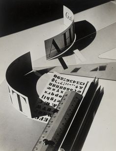 Grit Kallin-Fischer, Composition for Gebrauchsgraphik,  1930