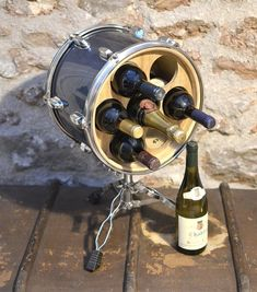 Rock Terrace has been creating unique upcycled furniture, lighting, wine racks and clocks from unloved drum kits since 2012. Based in Somerset and Wales, we sell online and can make pieces to order. International delivery and wholesale available.