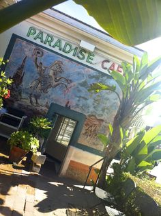 The One and Only....Paradise Cafe. Santa Barbara. My favorite place on both sides of the bar.