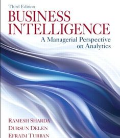 Business Intelligence: A Managerial Perspective on Analytics (3rd Edition) PDF