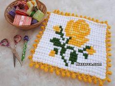 MISIR TEKNİĞİ İLE GÜLLÜ LİF MODELİ YAPILIŞI | Nazarca.com Baby Knitting Patterns, Crochet Patterns, Crochet Stitches, Knit Crochet, Knit World, Manta Crochet, Baby Socks, Knitting Socks, Doilies