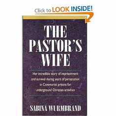 The Pastor's Wife: Sabina Wurmbrand, Charles Foley: 9780340160022: Amazon.com: Books 1979