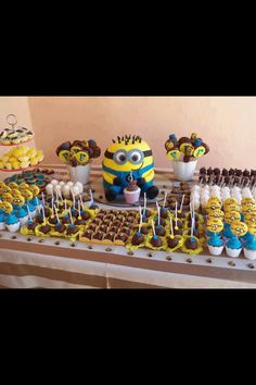 Despicable me party :) minions!!!!