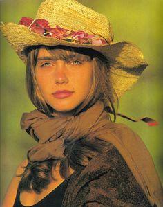 Roberta Chirko: US Vogue, Jul 1987 - Photo by Gilles Bensimon