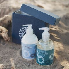 african rain gift box with lotion and liquid soap