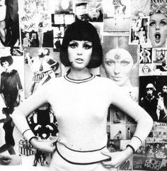 """Dorothy McGowan, star of the 1966 French film """"Who Are You, Polly Maggoo?"""" was discovered when a talent agent picked her out of a crowd of Beatles fans at Kennedy Airport."""