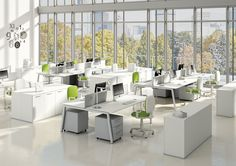 It's important to create a dynamic and productive office environment. This office space will help your workforce to become more efficient.  http://www.interoffice.co.uk/furniture/lego/