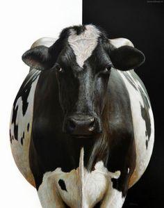Paintings of Farm Animals by Alexandra Klimas