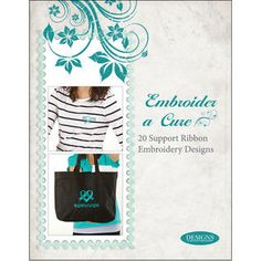 Learn how to embroider a scarf/Be a Difference Foundation | Nancy Zieman Blog