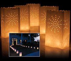 Luminarias / Candle Bags / Globos de cantoya / Globos de Luz / bodas / weddings / parties