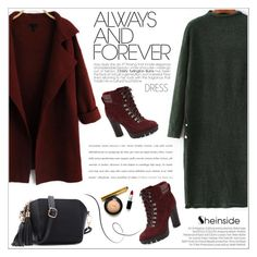"""""""Winter Dresses"""" by aurora-australis ❤ liked on Polyvore featuring Balenciaga, Nine West, Sheinside and under100"""
