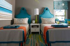 twin bedroom | Artistic Designs for Living