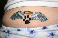 Dog Paw Print Tattoos | prints more from jessiquita view gallery view prints featured in ...