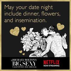 Let's get weird. #MichaelBolton #Netflix https://some.ly/5XG5TfL
