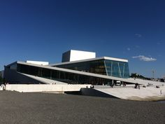 Oslo, the opera house