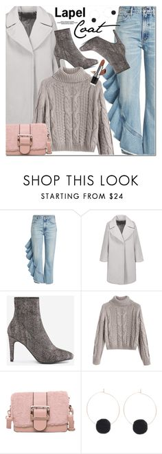 """""""Lapel Coat"""" by oshint ❤ liked on Polyvore featuring Citizens of Humanity and Avon"""