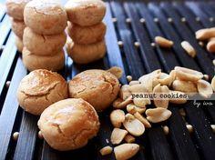 malaysian peanut cookies for raya. eid. chinese new year. soft cookies