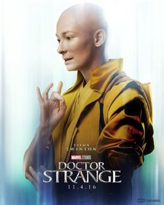 What if I told you the reality that you know is one of many? Tilda Swinton is The Ancient One. See #DoctorStrange in theaters November 4th.