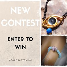 Πάρε μέρος κι εσύ στο διαγωνισμό του CforCrafts και ίσως να είσαι ένας από τους 2 μεγάλους τυχερούς που θα κερδίσουν από ένα υπέροχο χειροποίητο κόσμημα!