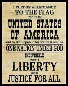 Pledge of Allegiance, digital print, black and white art, wall decor, Americana… I Love America, God Bless America, American Pride, American Flag, American History, American Decor, American Soldiers, I Pledge Allegiance, Black And White Artwork