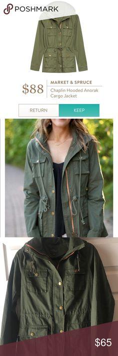 Stitch fix market and spruce jacket Worn once like new condition stitch fix Jackets & Coats Utility Jackets