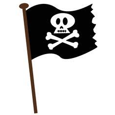 Pirate SVG scrapbook file