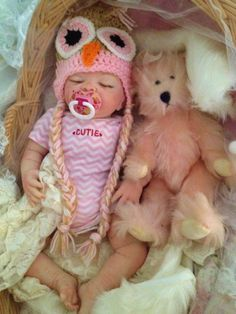 Completed Reborn Baby Doll Hannah From the by LittleBlessingsFaith