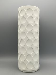 Vintage Vases, Vintage Pottery, White Vases, German, Shades, Ceramics, 3d, Glass, Accessories